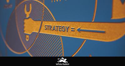 Esempio di strategia, icona di marketing differenziato