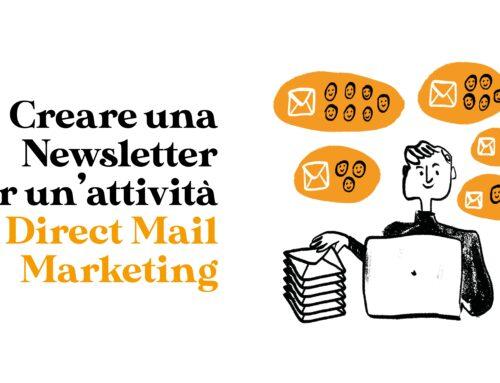 Creare una Newsletter per un'attività di Direct Mail Marketing