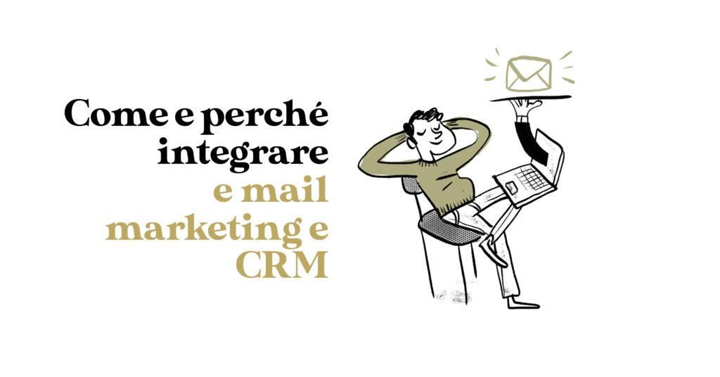 copertina email marketing e crm
